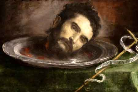 John the baptist beheaded image
