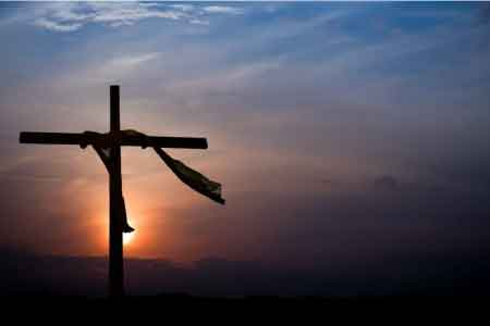 image of an empty cross