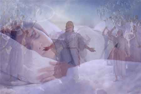 image of dreaming about Jesus