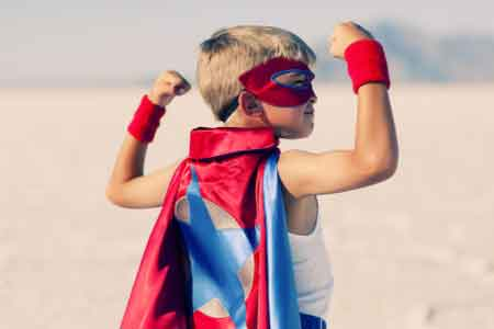 image of a boy being empowered