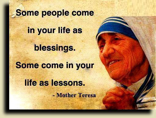 Image and quote by Mother Teresa