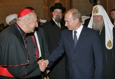putin with religious leaders