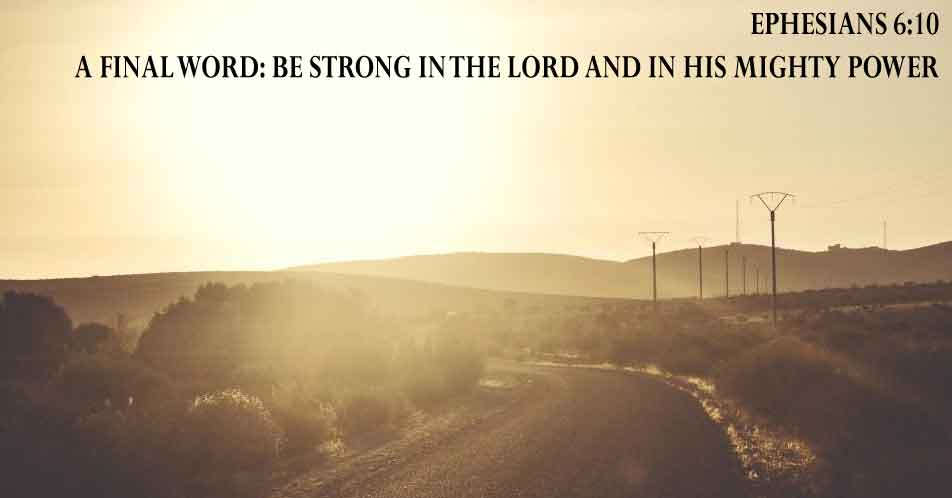 One of the Bible verses about strength
